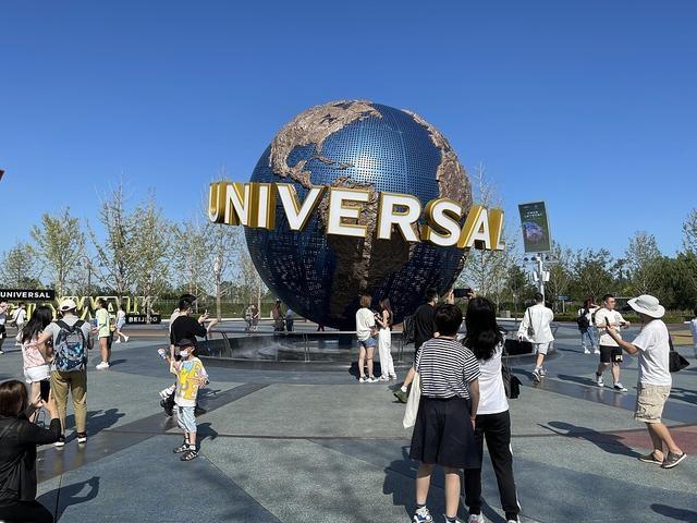 德媒北京环球影城中美商业合作示范
